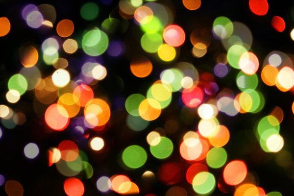 blurry christmas lights merry - photo #43