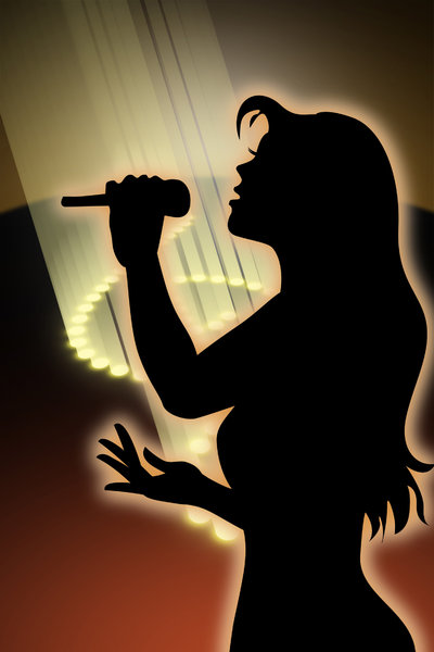 singing girl 2: a musically-themed graphic... hope you find it useful...!