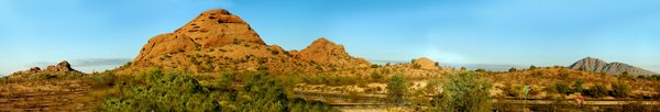 Arizona Panorama 1: Here are some Panoramas taken north of Scottsdale Arizona