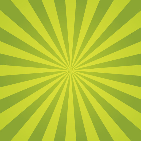 Green Sunburst 2: Green sunburst background.  Spring theme.