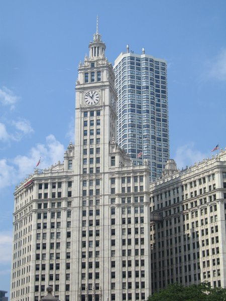 Chicago: One of the skyscrapers in Chicago