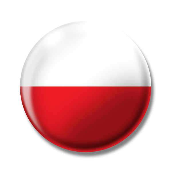 poland: the flag of poland