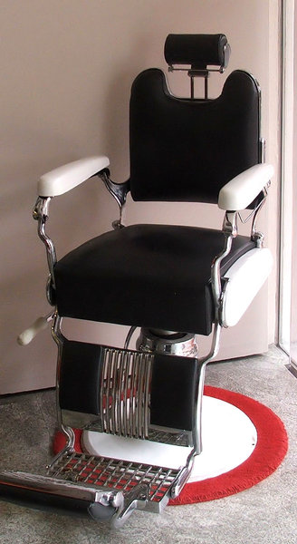Barber's chair: Barber's chair