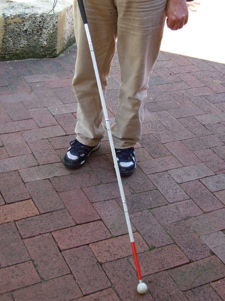 visual aid 1: folding aid stick for the blind