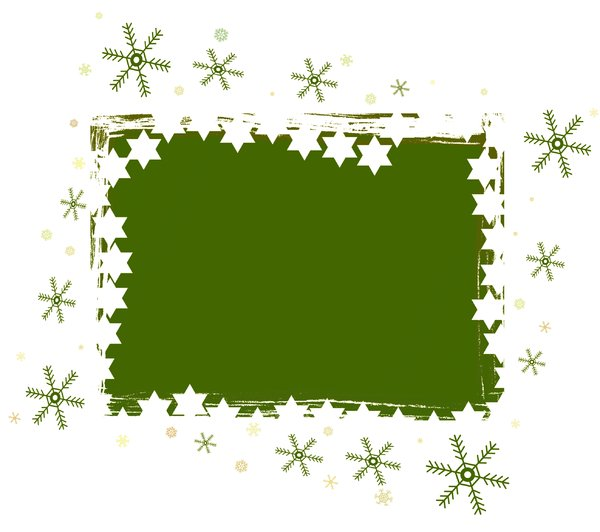 Christmas Banner: A Christmas background in festive green with a bit of grunge.