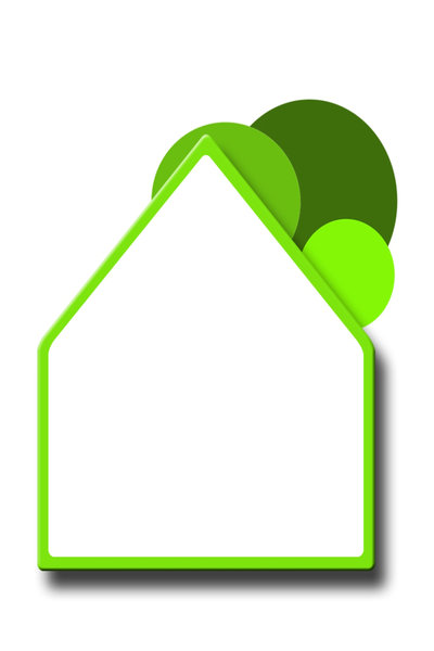 Green House: Green house concept illustration