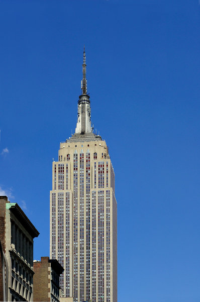 Empire State Building: Empire State Building in New York City.