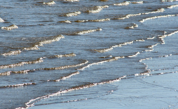 Ocean Ripples: Galveston Gulf Coast
