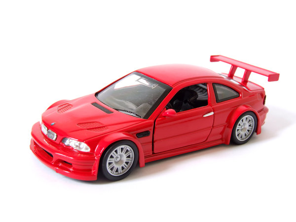 Red Car 1: BMW M3 GTR