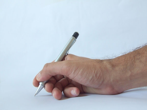 Writing: Hand & Pen