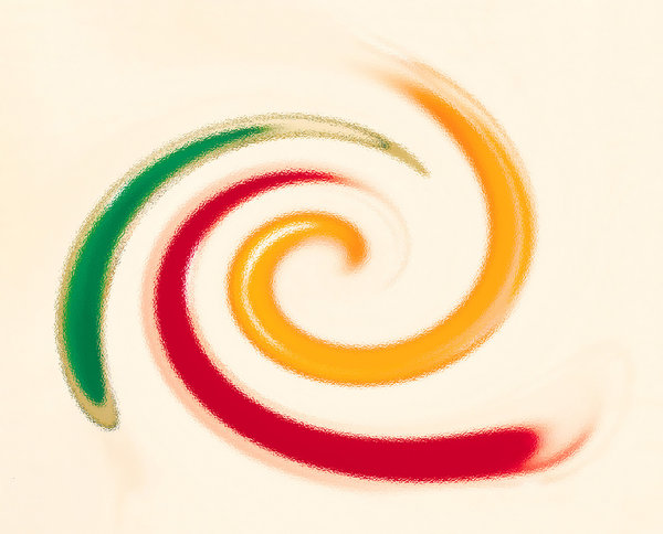 Twirl: Abstract Paint Twirl Behind Glass Texture.Please visit my stockxpert gallery:http://www.stockxpert.com ..