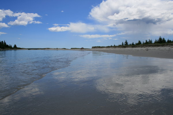 Carter's Beach 1: A beautiful day at Carter's Beach located on the south shore of Nova Scotia, Canada.