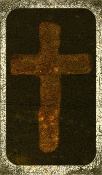 Cross Edge: Old Worn Edge Paper Texture with The Wonderful Cross.Please visit my stockxpert gallery:http://www.stockxpert.com ..