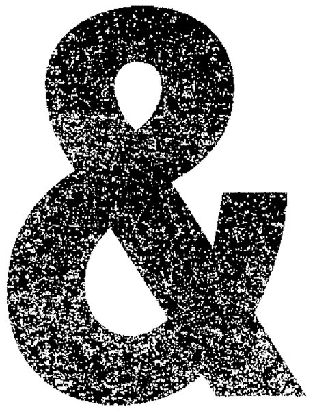 Ampersand 1: Texured ampersand.Please visit my stockxpert gallery:http://www.stockxpert.com ..
