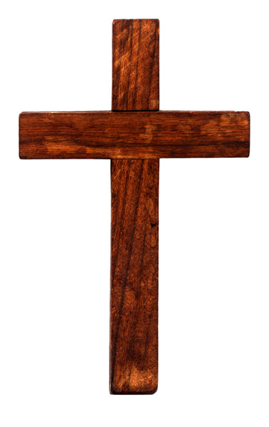 Wood Cross: A wood cross isolated on white.http://www.dailyaudiobibl ..Please visit my stockxpert gallery:http://www.stockxpert.com ..