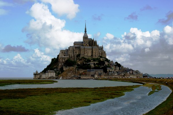 mont st. michel 8: a different view of mont st. michel
