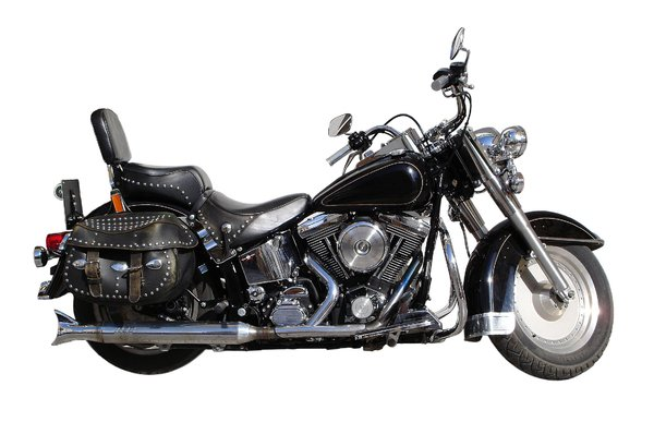 Motor Cycle: A well known motor cycle found in Ibiza for hire.