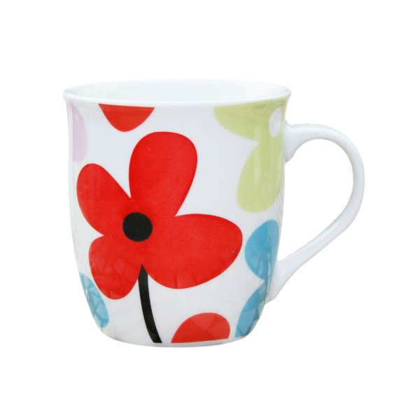 Mug 2: Mug with flower design