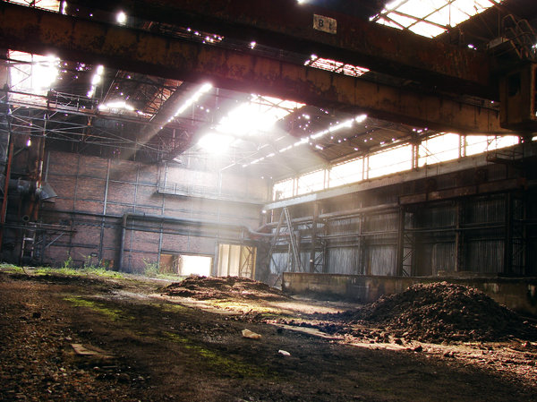 Then there were light: A picture I took in a - really - frightening warehouse, abandoned for years. Don't mention how scary it is during the night !!!GemiNY Brigante used it as a background here : http://www.youtube.com/wa ..Amazing job !