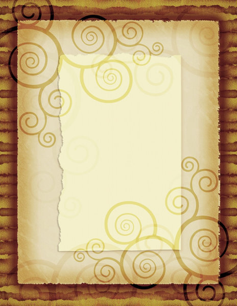 Spiral Paper: Vintage paper with spiral design.This is the Lo Res version.For the Hi Res version and more variations visit:http://www.stockxpert.com ..