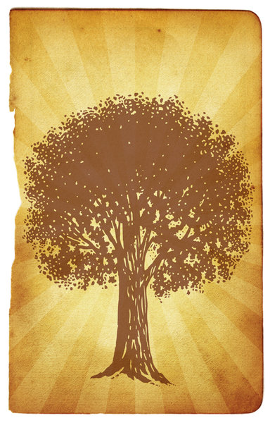 Tree Art 1: Variations on a tree graphic.For a HI RES version of this image, please visit: http://www.stockxpert.com ..