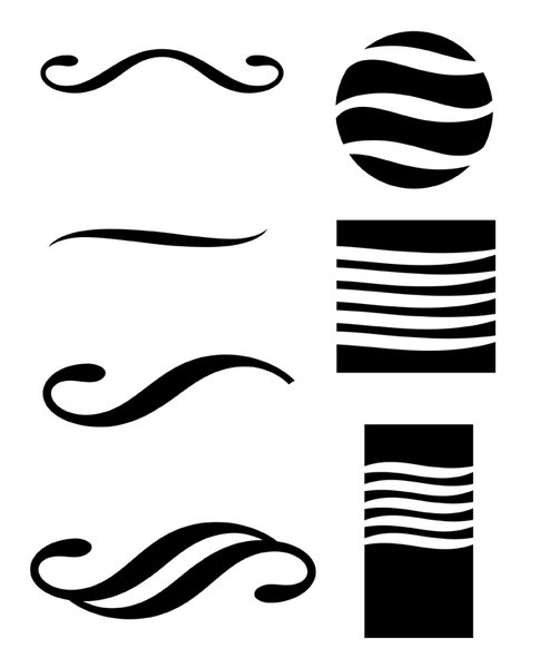 Graphic Symbols: Variations on simple graphic symbols.Please visit my stockxpert gallery:http://www.stockxpert.com ..