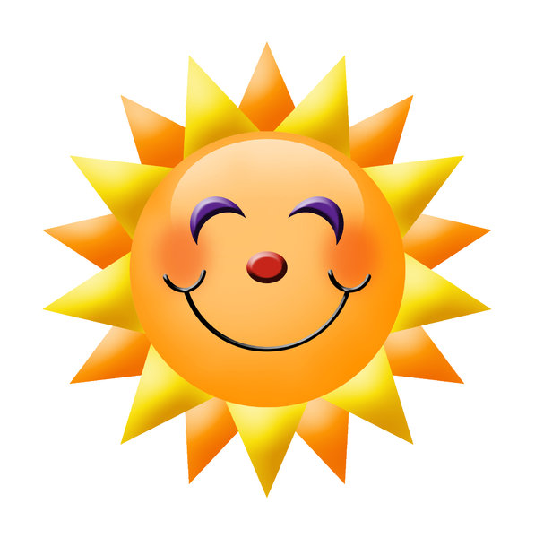 Sunburst: A smiley sun.Please visit my gallery at:http://www.stockxpert.com ..