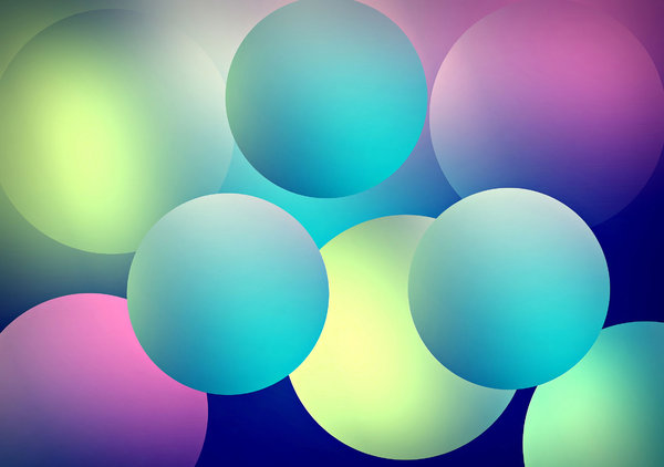 colorful balloons background: colorful balloons