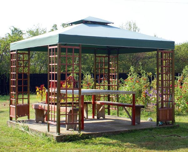 Free stock photos Rgbstock Free stock images garden pavilion
