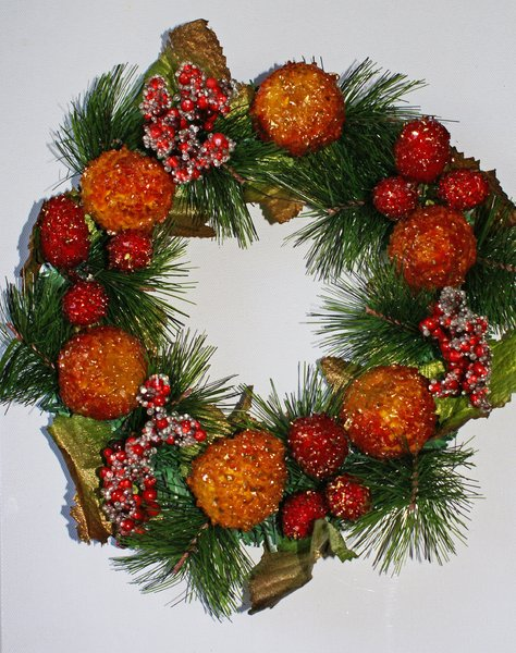 Christmas wreath 1: No description