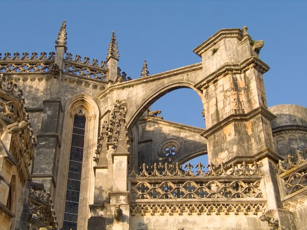 Abbey of Batalha 3: Just 12km south of Leiria is one of Portugal's must-see destinations, the abbey of Batalha. A UNESCO world heritage site, the beautiful and ornate monastery was in construction from the fourteenth to sixteenth centuries and remains a masterpiece of Manuel