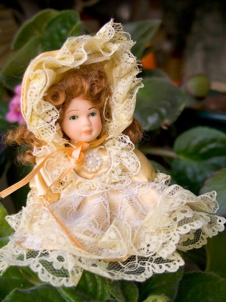 Doll in the garden 1: ...