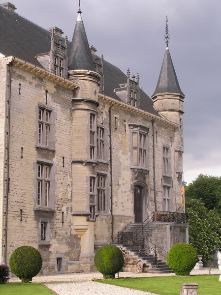 The Haunting: castle in Valkenburg, The Netherlands
