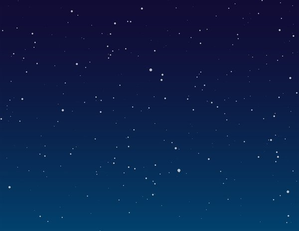 Night Sky Background: Digitally created night sky background.