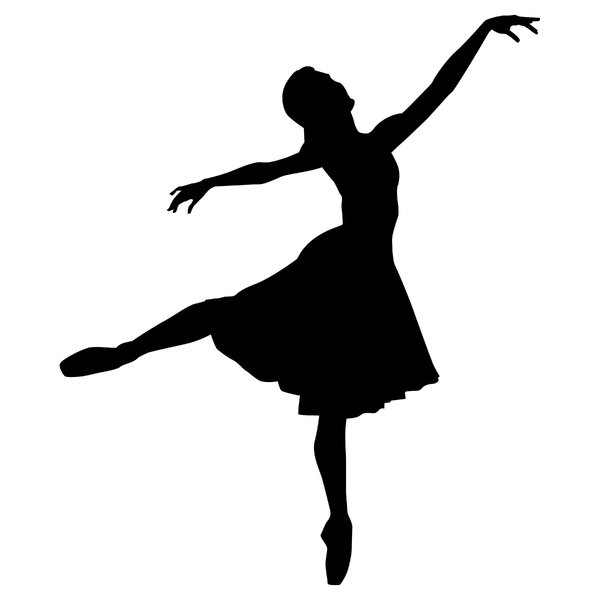 dancing girl silhouette - photo #35
