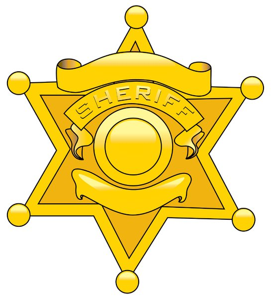 Law Badge: Vector Art