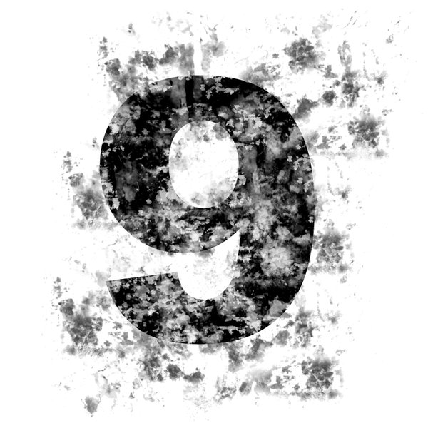 DistressedDigits 9: Distressed Numerals
