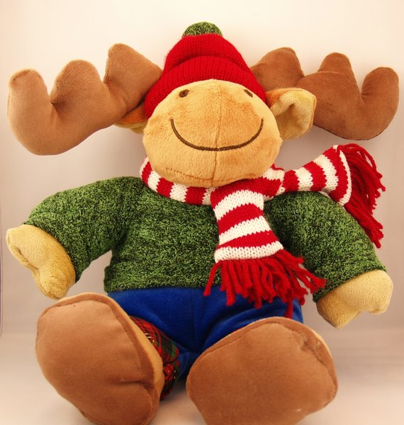 Christmas Moose: No description