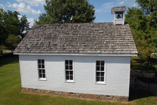 One Room School: One room school house.