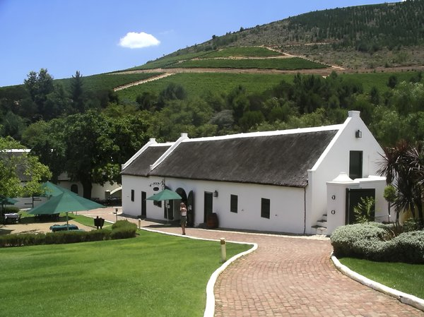 Wine Estate 1: Morgenhof wine estate, Stellenbosch South Africa
