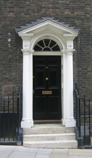 house entrance # 36: a house entrance # 36 (found in London)