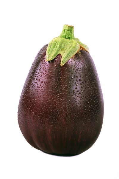 Eggplant: A fresh eggplant from the neighbors garden.