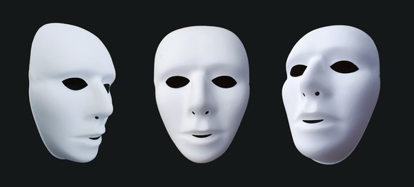 Masks: Masks for Theatre, play or to be spooky - masquerade.Comments appreciated!