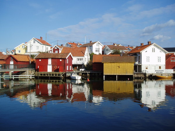 Fishermans village: Fishermans village on the swedish west coast