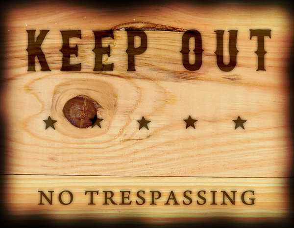 keep out 1: keep out