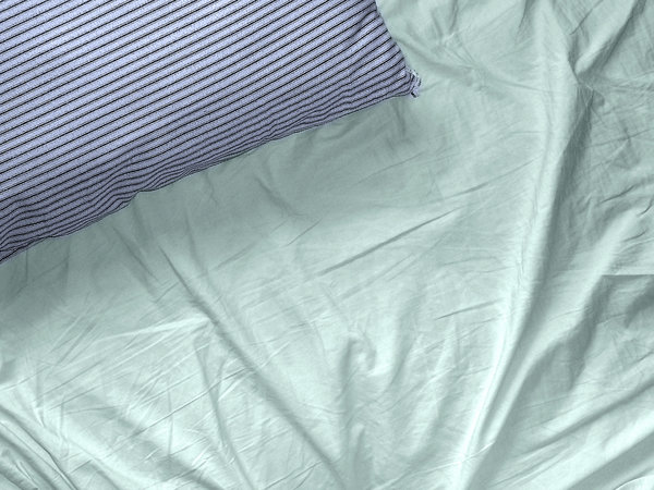 Pillow and Sheet: I woke up early (which is very unusual) and with the low morning light, the shadows on the sheet and pillow made a nice texture.