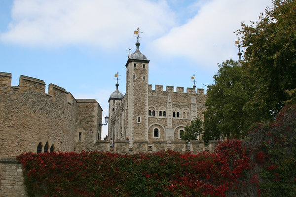 Tower of London: The Tower of London, England.