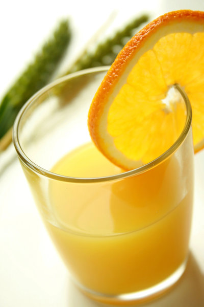 Orange Drink: Orange drink in a glass