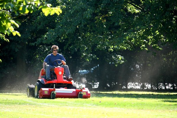 Grass Cutter: Ride-on grass mower