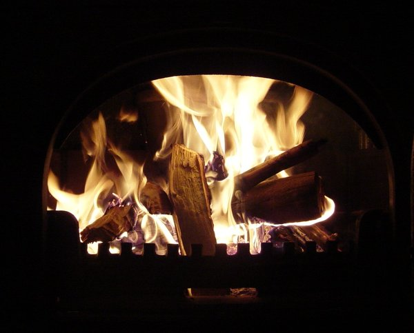 fire: fireplace shot
